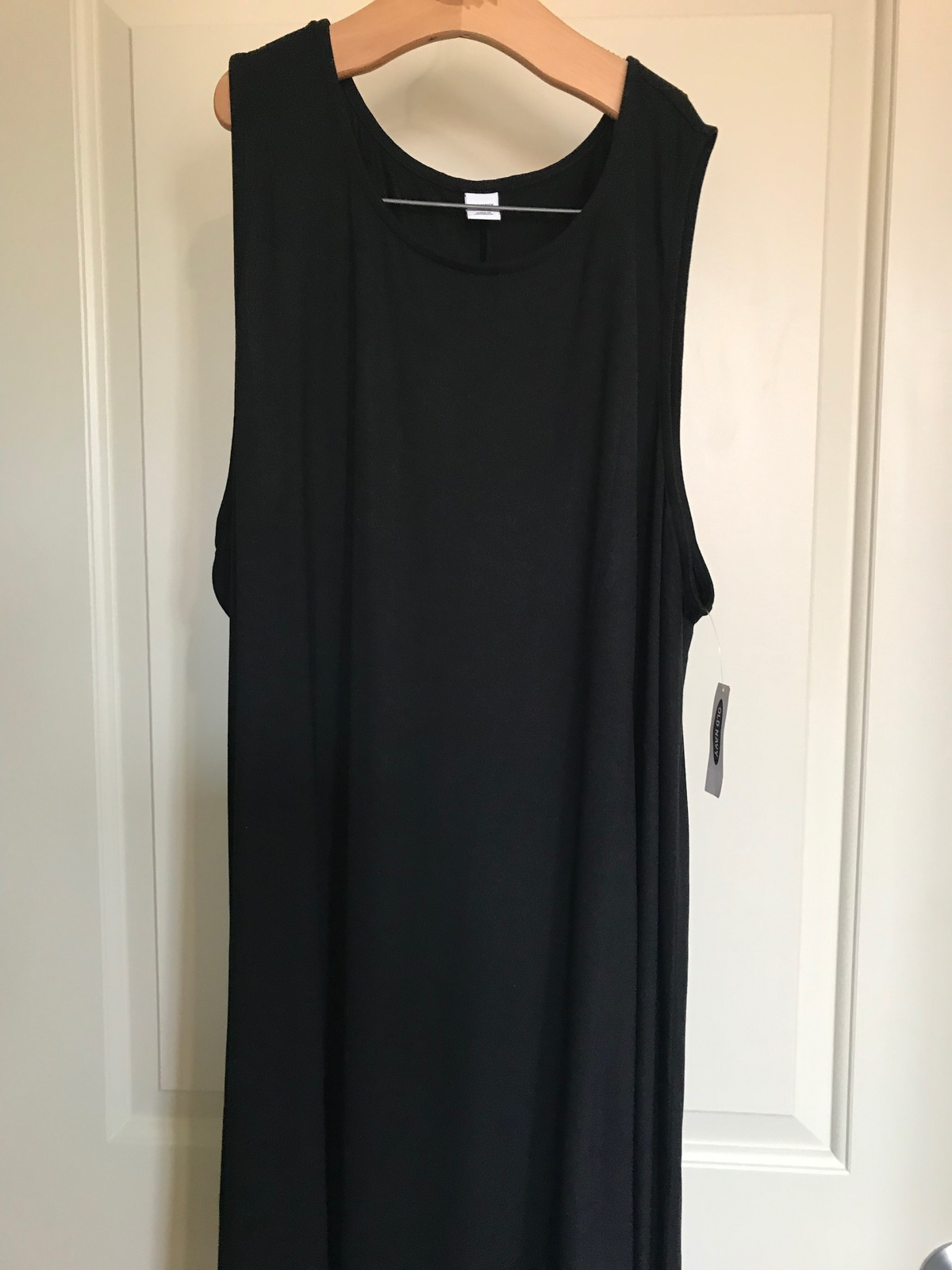 Old Navy Sleeveless Jersey Flare Dress for Women Work or Weekend Casual, Versati