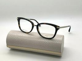 Jimmy Choo Eyeglasses JC218 086 Dark Havana 52-18-140MM Italy Case& Cloth - $77.43