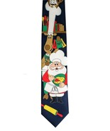 "Hallmark Licensed Holiday Christmas Reindeer Navy Blue Men's Neck Tie 59"" - $24.74"