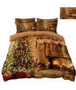 3D Weihnachten  Xma 300 Bett Kissenbezüge steppen Duvet Decken Set Singl... - $83.85+