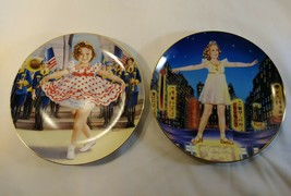 Shirley Temple Stand up & Cheer & little miss broadway Collectors Plate Danbury - $18.50