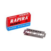Rapira Chrome Super Stainless Double Edge Blades (5 Blades Pack) - $5.50