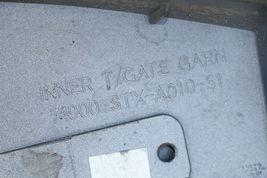 08-13 Acura MDX Rear Hatch Lip Spoiler Wing Garnish w/ Brake Light image 9