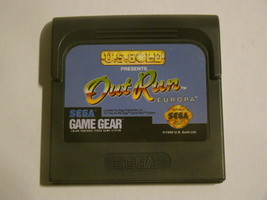 SEGA GAME GEAR - Out Run EUROPA (Game Only) - $18.00