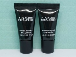 "Lot of 2 MAC Prep + Prime Natural Radiance - ""Radiant Pink"" TRAVEL (0.2 ... - $8.99"