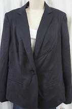"""Anne Klein Jacket Sz 14 Midnight Blue """"Luxe"""" Business Dinner Office Work... - $39.53"""