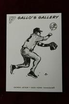 2005 Topps Gallery Gallos Gallery Derek Jeter Yankees - $19.79