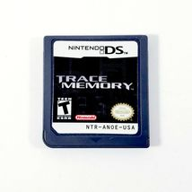 Trace Memory (Nintendo DS 2005) AUTHENTIC Cartridge (Another Code: Two M... - $11.35