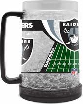 Las Vegas Raiders 16 oz NFL Crystal Freezer Mug - New - $19.99