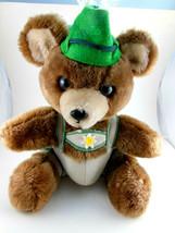 Vintage Dakin Teddy Bear Swiss Scandinavian Outfit 9.5 inch Sitting 1979 - $24.74