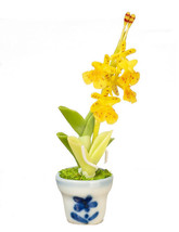 DOLLHOUSE MINIATURES ONCIDIUM IN POT #G7581 - $9.50