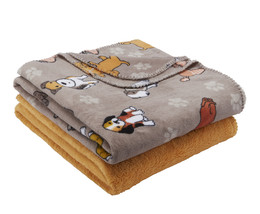 Mainstays Fleece Plush Throw Blanket, Set of 4 - $52.72