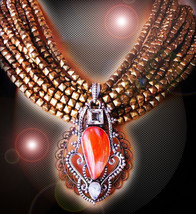 HAUNTED NECKLACE THE SOULS HIGHEST FIRE PURE ENERGY FLOW EXTREME ROYAL  ... - $284.84