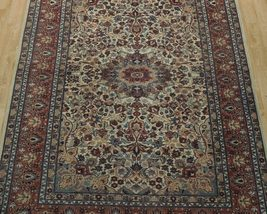 Ivory Wool Carpet 5 x 7 Fine Quality Reproduction Traditional Handmade Rug image 9