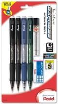 Pentel Twist-Erase Express Mechanical Pencil, 0.5mm, Assorted Barrel Colors, Pac - $21.32