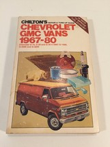 1967 - 80 Chilton Repair and Tune-Up Manual Chevrolet GMC Vans - $12.99
