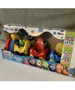 Peek & Play Surprise Eggs by Chuchu TV -18 month Train New In Box - $19.80