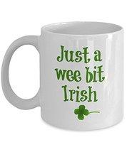 4-Leaf Clover, Luck, St. Patrick's Day Gifts, Lucky Irish Coffee Mug - $14.95