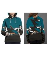 San Jose Shark HOODIE  FULLPRINT FOR WOMEN - $42.99+
