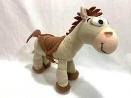 """Disney Parks Toy Story 2 Bullseye Horse 11"""" Poseable Plush Stuffed Anima... - $12.86"""