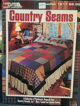 Country Seams Leisure Arts 1617 A Collection of Patchworks Projects threads - $7.99