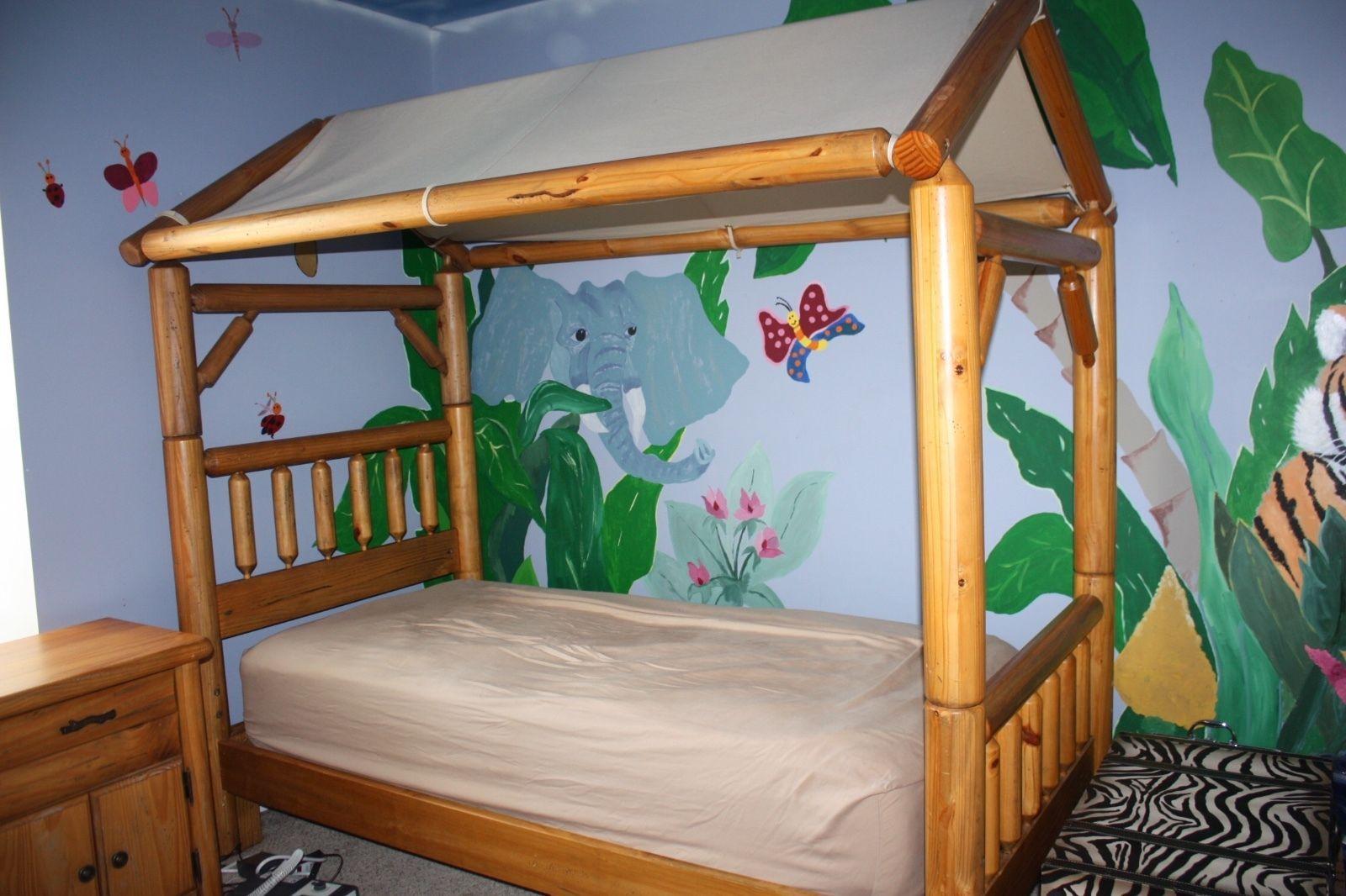 Kids Furniture American Signature Camp Granada Tent Bed, Desk/Chair,  Table,Chest