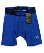 Jordan Men's Alpha 6'' Compression Shorts Royal Blue NIKE Dri-Fit  86586... - $27.99