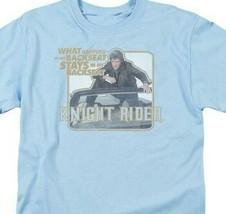 Knight Rider Retro 80's TV show David Hasselhoff & Kitt graphic t-shirt NBC667 image 2