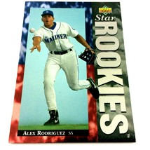 Alex Rodriguez 1994 Upper Deck Rookie Card #24 Mariners Rangers Yankees - $9.85