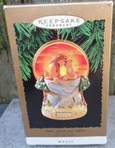 Hallmark Disney Lion King Lighted Magic Keepsake Ornament Simba Sarabi Mufasa - $24.99