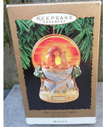 Hallmark Disney Lion King Lighted Magic Keepsake Ornament Simba Sarabi M... - $24.99