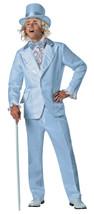 Rasta Imposta Goofball Dümmer Blau Smoking Erwachsene Herren Halloween Kostüm - £60.40 GBP