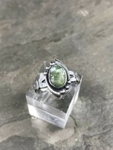 Sz 5.5, Vintage Bell Trading Post Sterling Silver Turquoise Ring, 925 Na... - $778,54 MXN