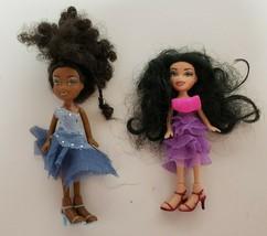 Lil Bratz Dancefloor Funk Zada & Nazalia Mini Dolls original clothes  MG... - $19.99