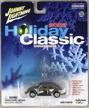 "NIP 2002 Johnny Lightning ""Holiday Classic"" '66 VW Beetle (1:64) Chrome ... - $12.95"