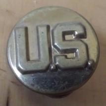 "US Army Insignia Military Collar Lapel Pin 1"" Diameter - $12.86"