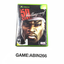 50 Cent Bulletproof Shooter Video Game 2005 For Microsoft Xbox - $12.52