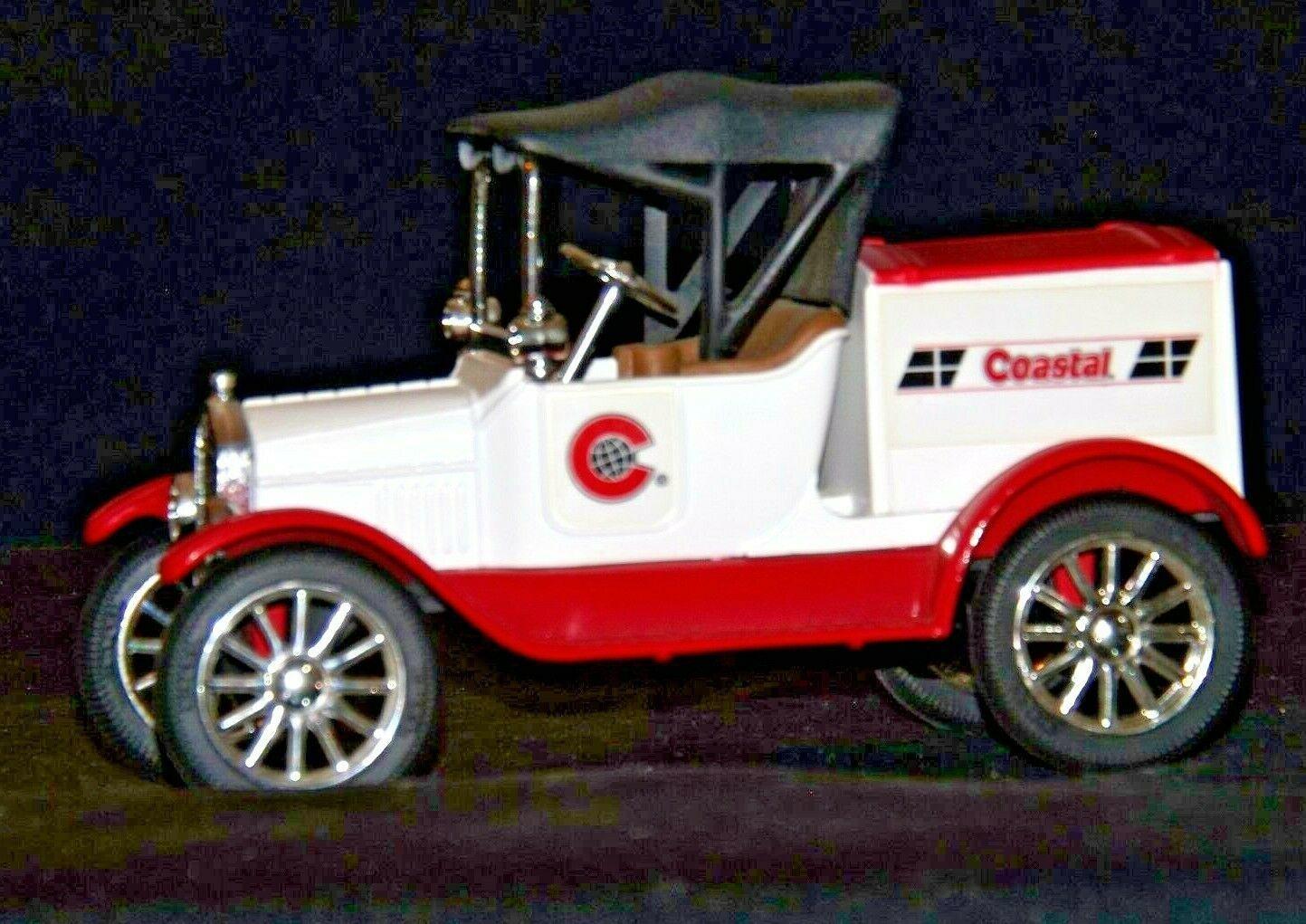 "ERTL Coastal Ford 1918 Replica Die-cast Model ""T"" Runabout Bank AA19-1638 Vint"