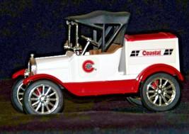 "ERTL Coastal Ford 1918 Replica Die-cast Model ""T"" Runabout Bank AA19-1638 Vint image 1"