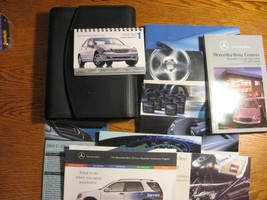 2003 Mercedes Benz C class OEM Owners Manual Set - $34.65