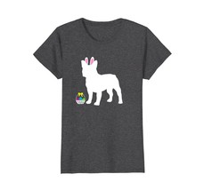 French Bulldog Easter Bunny Dog Silhouette T-Shirt - $19.99+