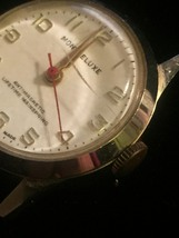 """Vintage Silver Montreluxe 1 1/8"""" watch (No band)  image 4"""