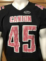 Rawlings Support the Cause Football Canton Jersey Black Size Large - $24.74