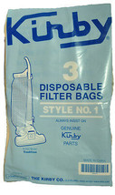 Kirby Style 1 Tradition 3CB Vacuum Cleaner Bags K-19067903 - $6.57