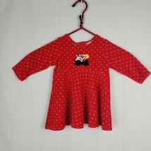 Warner Bros Studio Store Sylvester and Tweety Velvet Polka Dot Dress 12 ... - $9.40