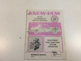 1981 Buick Know-How Service Training Electronic Fuel Injection: System O... - $14.99
