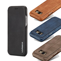 K72) Leather Wallet Flip Magnetic Back Cover Case For Samsung Galaxy - $61.86