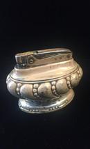 Vintage 40s Ronson Crown Silver-plated Desk Lighter image 3