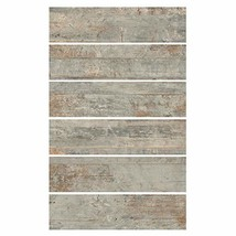 6x24 Country Ocean Porcelain Plank Wood-Look Field Tile Floor Sold by Piece
