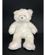 "Build A Bear Workshop Teddy Bear White 16"" Plush Soft Fuzzy Toy Gift Stu... - $24.19"